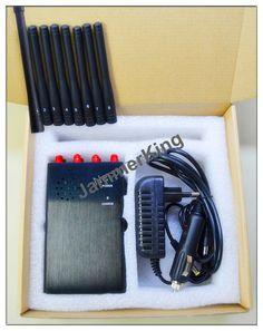Audio recorder jammer - 8 Antennas Jammer