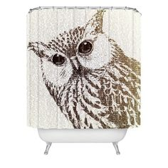 Owl Shower Curtain And Accessories – Bedroom And Bathroom ...