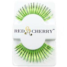 Neon Green Eyelashes  http://ow.ly/9hpSO