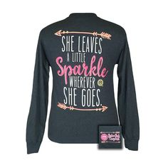 Girle Girls Sparkle Long Sleeve T- Shirt