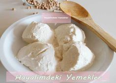 Nohutla ( bio ) Yoğurt Mayalama Bio Yogurt, Homemade Cheese, Turkish Cuisine, Appetizer Salads, Turkish Recipes, Yummy Eats, Mozzarella, Salad Recipes, Iphone