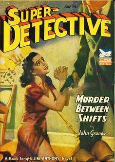 Super Detective, Jan. 1943 - H.J. Ward