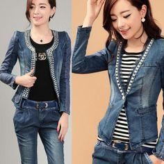 2014 jar nové dámske set obruba džínsové oblek móda jeseň zima džínsové športy nastaviť žena denim set