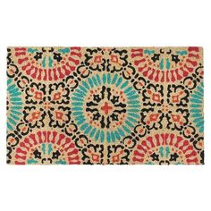 www.target.com p multicolored-medallion-doormat-18-x30-threshold - A-23986207