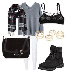 """""""Untitled #418"""" by aatk on Polyvore featuring Hanky Panky, Timberland, Humble Chic, women's clothing, women's fashion, women, female, woman, misses and juniors"""