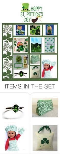 """""""Happy St. Patrick's Day"""" by krazyboutkats on Polyvore featuring art, stpatricksday, wearingofthegreen and celebrationtimes"""