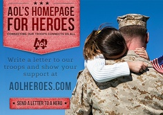 Homepage for Heroes is AOL's way to recognize, honor and support those who dedicate their lives to protecting and bettering ours.