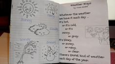Poetry Notebooks for First Grade | ... : Sharing Across Borders: My 1st Grade Poetry Journal Scrapbook