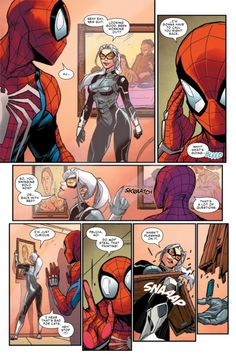 Browse the Marvel Comics issue Marvel's Spider-Man: The Black Cat Strikes Learn where to read it, and check out the comic's cover art, variants, writers, & more! Spiderman Black Cat, Comics Spiderman, Black Cat Marvel, Amazing Spiderman, Marvel Vs, Marvel Heroes, Black Cat Comics, Cute Comics, Comic Panels