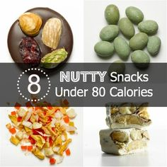 Looking for a snack that packs a crunch? Try one of these 8 NUTTY Snacks Under 80 Calories! | Health.com