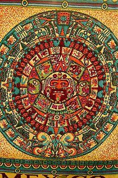 David Sanger   Mexican art, Aztec Calendar