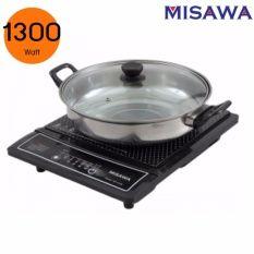 https://www.i-sabuy.com/ MISAWA เตาแม่เหล็กไฟฟ้า รุ่น WP-2100 1300 Watt พร้อมหม้อสแตนเลส