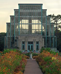The Jewel Box, in Forest Park, Saint Louis, Missouri