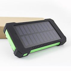 Rugged Solar Panel USB Charger (Waterproof)