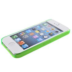 Plastic Bumper Frame Case for iPhone 5 (Green) $1.00