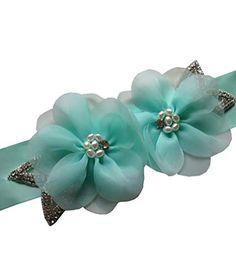 Wedding Sash Belt, Organza Flowers, Buy Crystals, Branded Belts, Sash Belts, Belted Dress, Pearls, Amazon, Design