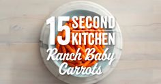 Spice up your side dishes with this quick and easy recipe for Ranch Glazed Baby Carrots! You'll never look at baby carrots the same way again. Ww Recipes, Veggie Recipes, Mexican Food Recipes, Real Food Recipes, Cooking Recipes, Veggie Dishes, Dinner Side Dishes, Side Dishes Easy, Hidden Valley Recipes