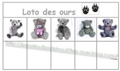 Loto des ours Free Frames, Petite Section, Bingo, Ps, Projects To Try, Beer, Comics, Traditional Tales, Fall Season