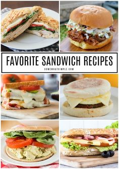 These 13 amazing sandwich recipes will give you almost 2 weeks worth of something exciting to eat for lunch! Find all of the recipes here! Sandwiches For Lunch, Healthy Sandwiches, Delicious Sandwiches, Sandwich Box, Lunch Recipes, Salad Recipes, Fun Sandwich Recipes, Sandwich Ideas, Soup Recipes