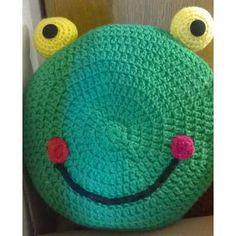 Almohadones Infantiles Tejidos A Crochet Niño Niña Artesanal - $ 150,00 en MercadoLibre