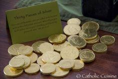 30 monedas de plata