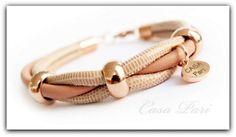 CASA Pari ®   NAPPA Leder Armband ★  PEARLY  ★   von CASA Pari® auf DaWanda.com