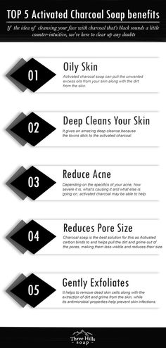 Do you want to know what are the benefits of using activated charcoal soap on your face? Here are TOP 5 Activated Charcoal Soap benefits. Charcoal Soap Benefits, Activated Charcoal Benefits, Soap Making Recipes, Soap Recipes, Charcoal For Skin, Charcoal Face Soap, Best Natural Soap, Soap Shop, Diys