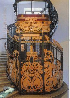 Otto Wagner Aufzug