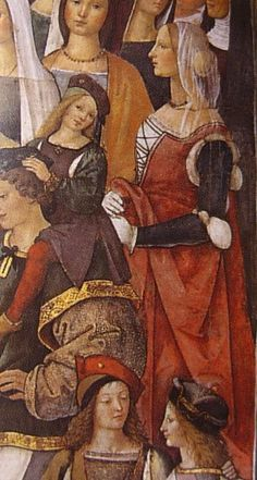 1497/98 The Legend of Saint Ursula (Italian: Storie di sant'Orsola) is a series of large wall-paintings on canvas by the Italian Renaissance artist Vittore Carpaccio, originally created for the Scuola di Sant'Orsola (Ursula) in Venice. They are now in the Gallerie dell'Accademia in Venice.