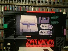 By katselvania: Finally added an SNES box to the collection! #SNES #supernintendo #retrogaming #retrogames #retrogamer #retrocollective #gamer #games #gaming #gameroom #gamecollection #collection #collector #videogames #videogame #videogameaddict #nintendo #ninstagram #retrogaming #microhobbit