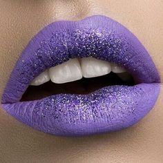 Lips purple