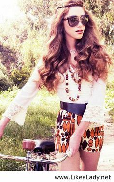 Awesome look for girls - Summer style