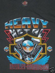 Harley-Davidson Heavy Metal Black T-shirt L