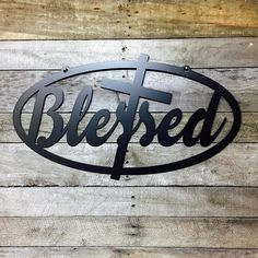 Straightforward DIY Metal Working Projects Ideas - Fast Advice Of DIY Black Smith Metal Working Considered - Adalberto Flores Metal Projects, Welding Projects, Metal Crafts, Welding Ideas, Diy Projects, Metal Walls, Metal Wall Art, Metal Artwork, Blessed Sign