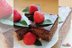 Výborný hrnčekový čokoládový koláč | recept | RadVarim.sk Desserts, Deserts, Dessert, Postres, Food Deserts