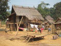 Le village de Huai Bo, près de Muang Ngoi - Laos