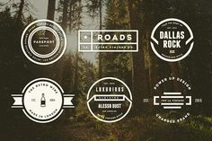 Mega Bundle 1100 Logos and Badges Vintage, Hipster. Use these templates in Logo Design Label Design Badge Design Apparel Design Typography Design Web and Banners Stamps & Stickers T-shirts