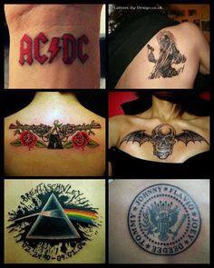 #rocknroll #Tattoos #inked I love the Guns N Roses tattoo.