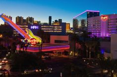 las vegas hard rock hotel - stayed here, saw an awesome show and won big on the slots!