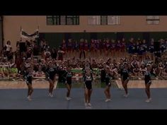 These girls stunted and tumbled for 3 STRAIGHT minutes. #boss #takeabow  Dracut High School Cheerleading 2013 Fall State CHAMPIONS - YouTube