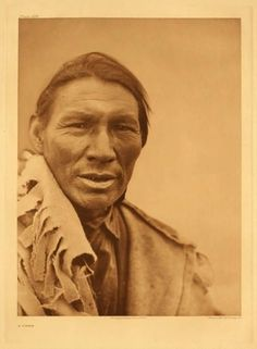 American Indians : A Cree Man.