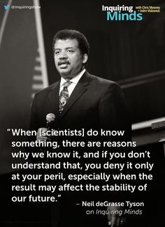 "Read what Neil deGrasse Tyson has to say to science-denying ""flat-Earthers"" who don't believe in climate change"