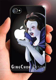 Vampire diaries iPhone 4 case, iPhone case for iPhone 4 or iPhone 4S. Black Case.