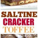 Share Tweet Pin Mail ThisSaltine Cracker Toffee was my grandma's recipe. It's addicting and one of my favorite treats! Some people refer to this ...