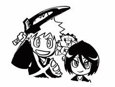 Ichigo And Rukia, Bleach Manga, Shinigami, Rwby, Mickey Mouse, Disney Characters, Fictional Characters, Witch, Darth Vader