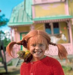 pippi longstocking. what a free/fun childlike spirit-- i remember this with fondness from my childhood.