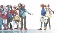 pokemon black and white N Pokemon Mew, Pokemon Manga, Black Pokemon, Pokemon Ships, Pokemon Comics, Pokemon Fan Art, Anime Manga, Pokemon Images, Pokemon Pictures