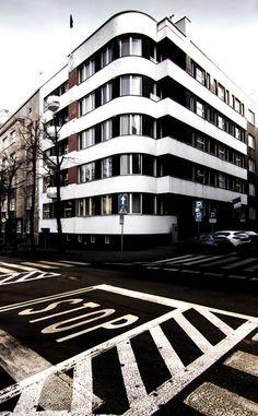 Modern architecture, Katowice; Photo: Jacek Durski