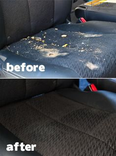 A Simple and Effective DIY Car Upholstery Cleaner | Car upholstery ...