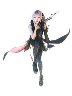 Serah from Lightning Returns: Final Fantasy XIII